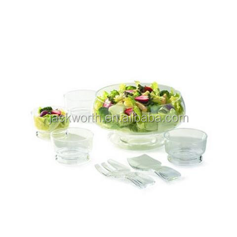 7 PCS Salad Serving Set - Fruit Salad Container Set