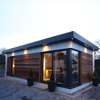 Light Weight Steel Prefabricated Container House / Villa For Sale