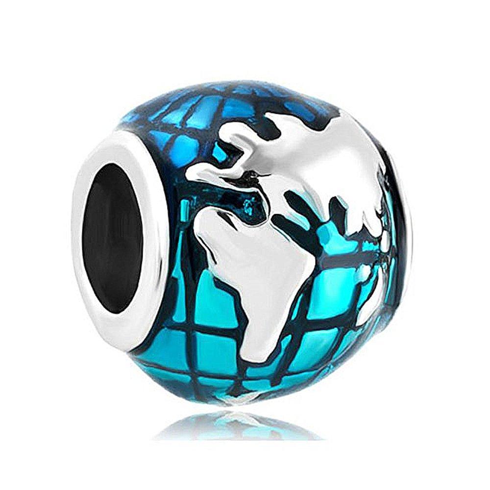 Buy Christmas Gifts Creationtop Ocean Blue Earth World Globe Charm ...