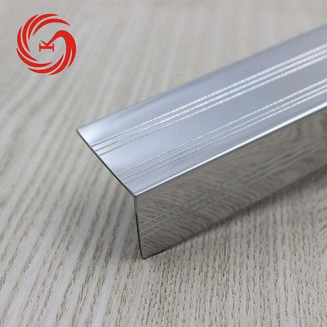 Laminate Floor Anti Rust Stainless Steel Stair Step Covers Metal Stair Tread