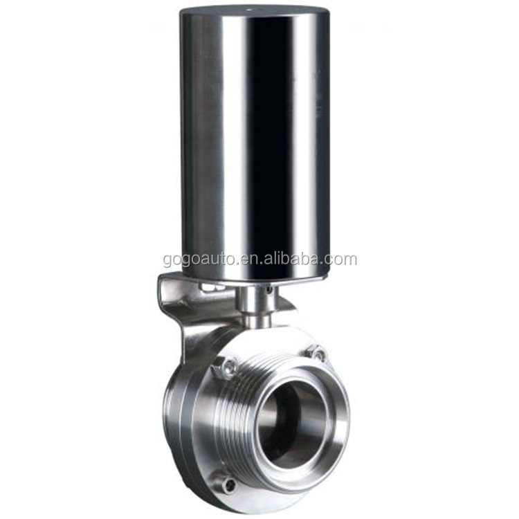 Vertical pneumatic butterfly steel valve stainless steel pressure relief swing check valve