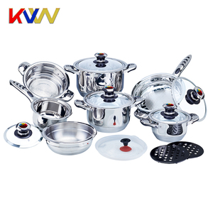 High quality 12pcs cookware sets/pot inox cookware for Promotion