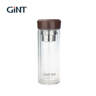 China brands wide mouth bpa free gym glass water bottle drinking