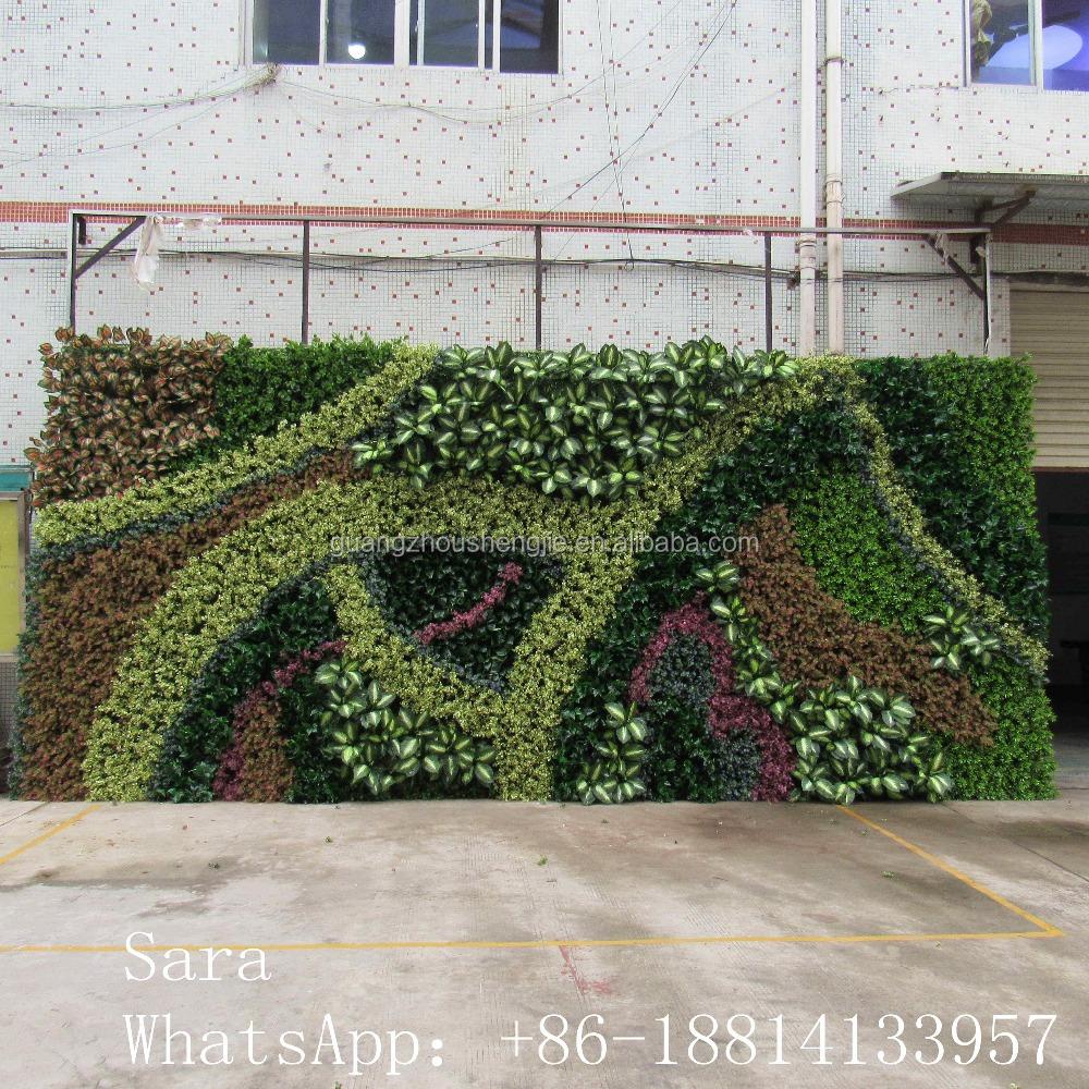 Plastic Garden Walls Vertical Green Wall