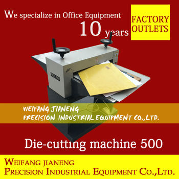 New paper die cutting machine mq500 business card cutter buy new paper die cutting machine mq500 business card cutter reheart Image collections