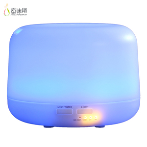 SIXU lower MOQ cute humidifier ultrasonic led color changing diffuser fragrance air ionizer in stock