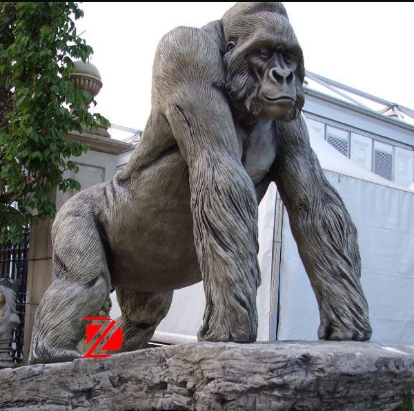 Grey Stone Monkey Garden Statue Buy Monkey Garden Statue