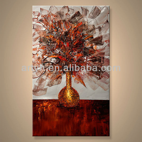 Newest Handmade Picture Abstraction The Flowers For Decor