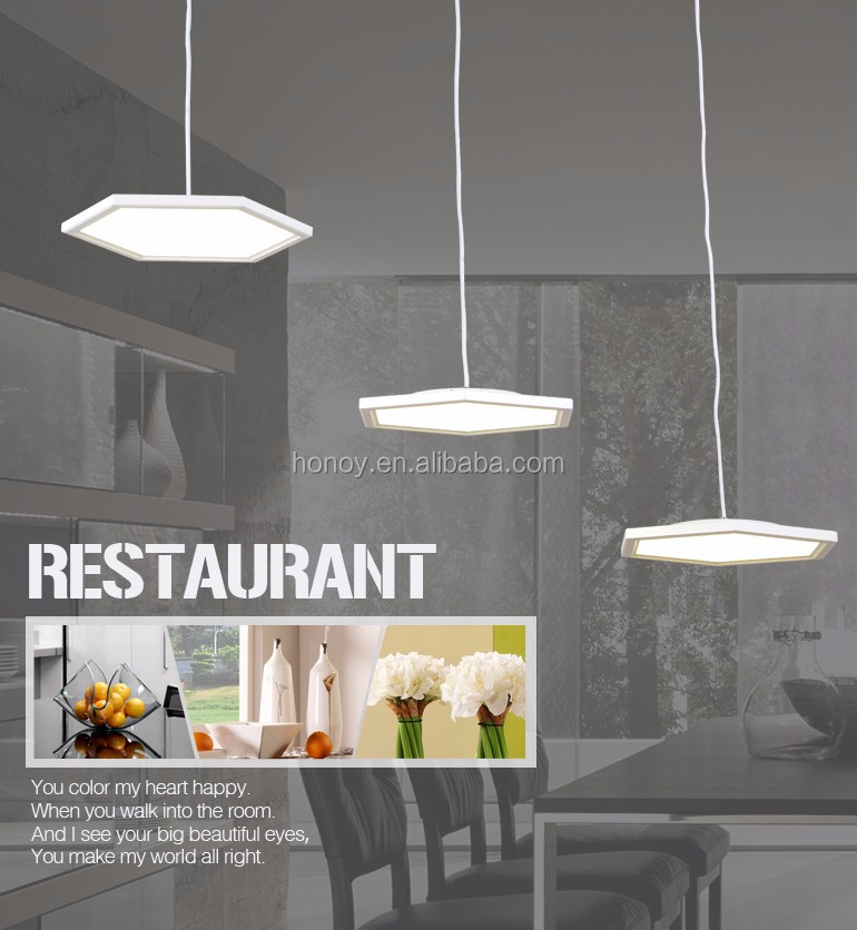 Home decorative chandelier pendant lighting 36w LED modern replica pendant light Zhongshan China