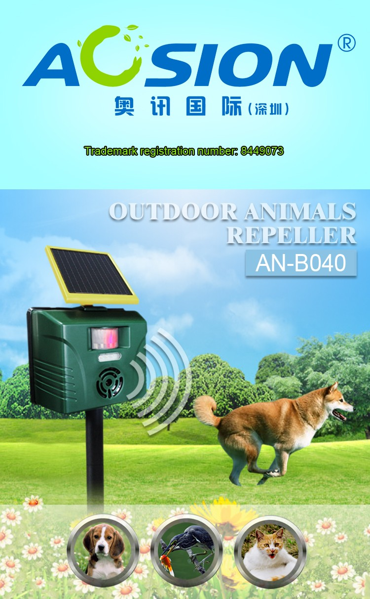 Aosion 2 Year Warranty Motion Activated Ultrasonic Deer