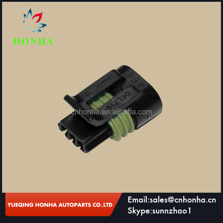 3 Pin Female Delphi Sealed Auto Electrical Sensor Connector, 3 Pin ...