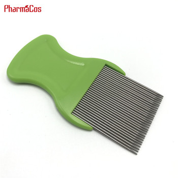 Promotional Custom Hair Lice stainless steel Teeth Terminator Lice Comb