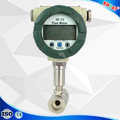 KHLUGB: open channel digial ipg biogas vortex flow meter