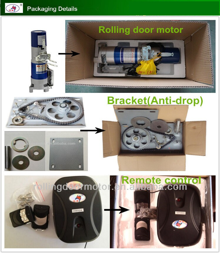 1p 500kg Remote Control Electric Roll Up Garage Door Motor Automatic Operator