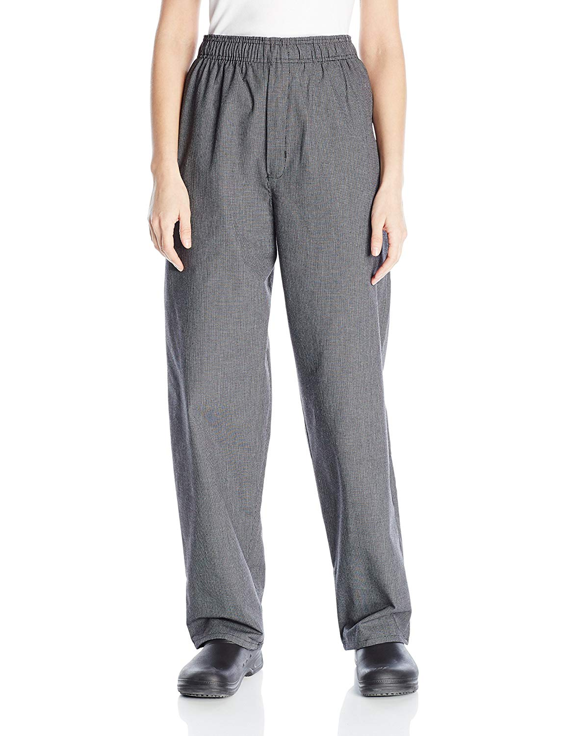 Uncommon Threads Women's Yarn Dyed Baggy Chef Pant