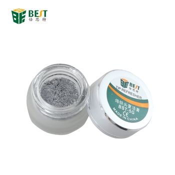 BEST Repair Tools Mechanic Soldering Iron Tip Refresher Clean Paste for Oxide Solder Iron Tip Head Resurrection