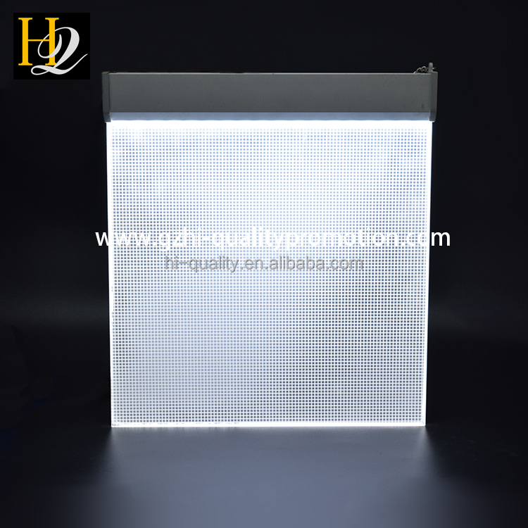 Chinese factory supplier cheap price clear acrylic light box diffuser