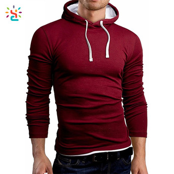 5a923402c Stretch breath mens clothing hoodies slim fit pullover hoodie blank fitted  hoodies wholesale