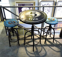 industrial loft metal coffee table in stock