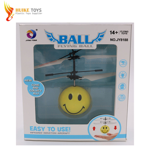 Fashion Infrared Flash Ball Induction Flying Aircraft Flying Fairy RC UFO for sale
