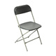 black color used metal cheap folding chair wholesale