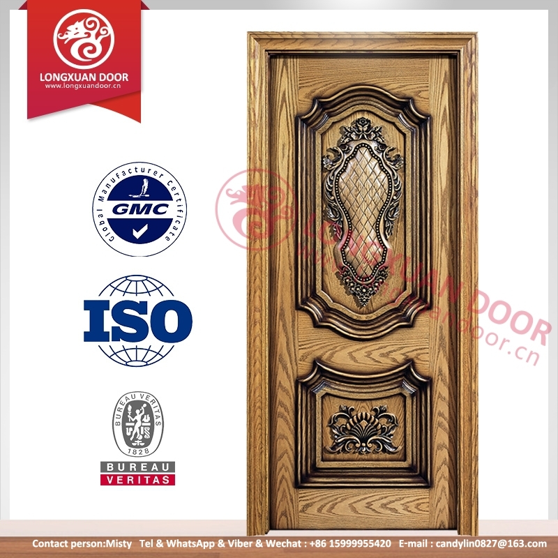 Wooden single double main door design teak wood main for Latest wooden door designs 2016