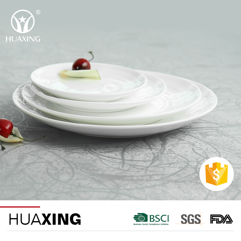 Fine porcelain dinnerware plates hotel & restaurant crockery tableware for dubai
