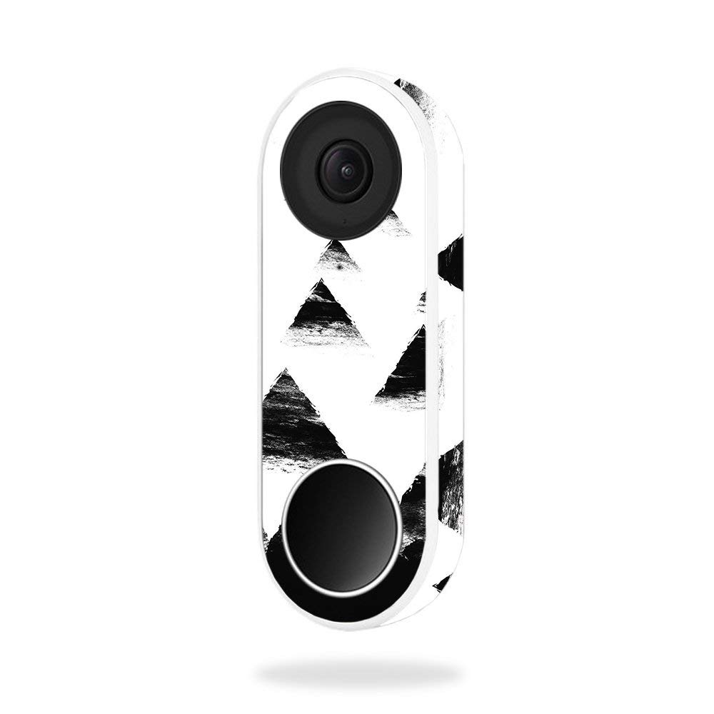 MightySkins Skin for Nest Hello Video Doorbell - Black Hills | Protective, Durable, and Unique Vinyl Decal wrap Cover | Easy to Apply, Remove, and Change Styles | Made in The USA