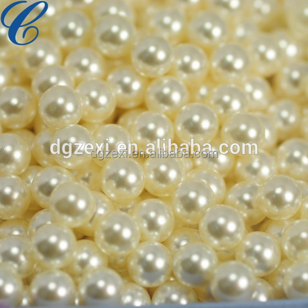 6mm Loose Faux Pearls No Hole With Great Price