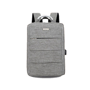 new design oxford business laptop backpack with usb charging for man