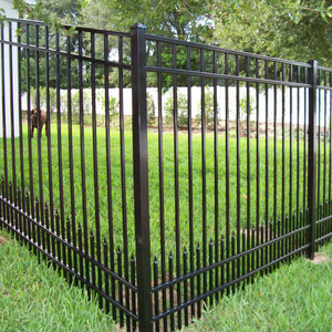 Decorative Residential Fence Metal Fence Panel
