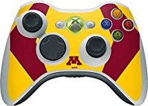 University of Minnesota Xbox 360 Wireless Controller Skin - Minnesota Golden Gophers Vinyl Decal Skin For Your Xbox 360 Wireless Controller