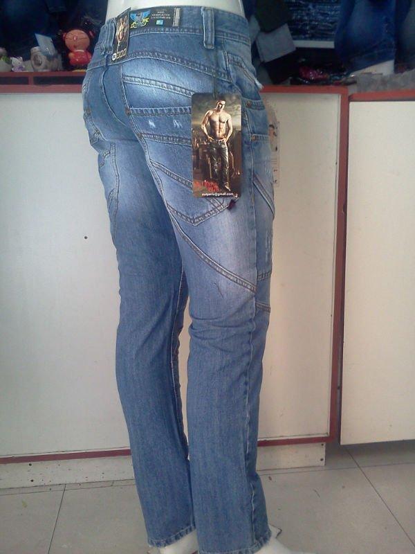 Pantalones De Mezclilla Para Hombre