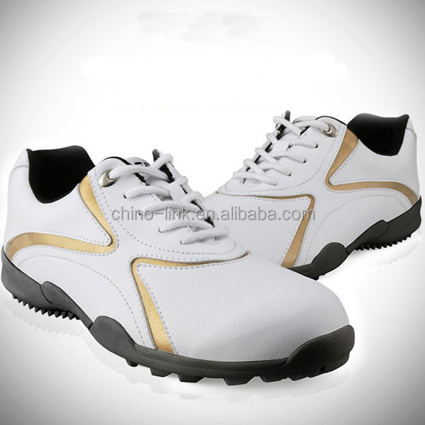 Best design and factory price winter mens golf shoe