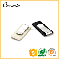 Wholesale Products Stainless Steel Money Clip Card Holder For Leather Wallet