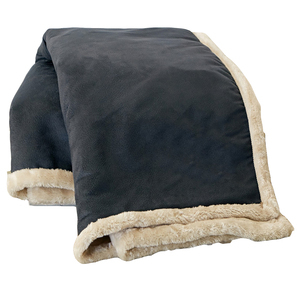 leather sofa throw faux leather faux fur blanket
