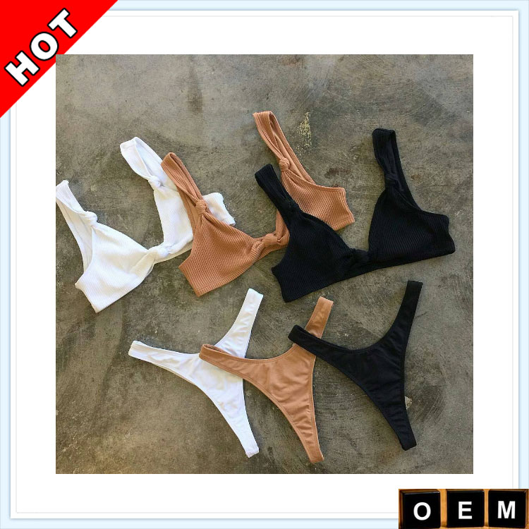Swimwear Manufacturer Women Custom Knot Swimwear