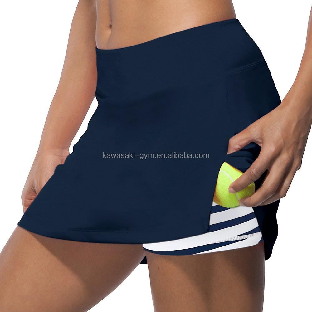 도매 다른 디자인 고품질 빠른 열전달 인쇄 테니스 스커트