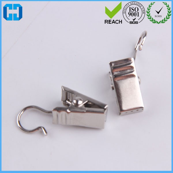 6*31*17 MM Nickle Metal Window Drapes Curtain Clips Wholesale