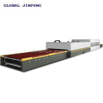 JFG 2436 Flat Type glass tempering machine furnace for toughened glass making