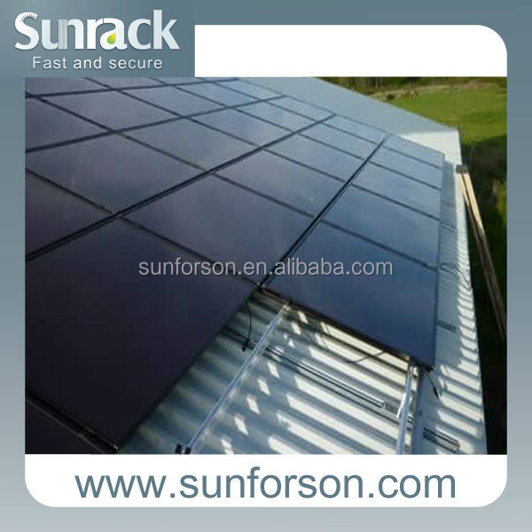 Portable solar energy Mounting, Pitched Sun Roof Mounting System