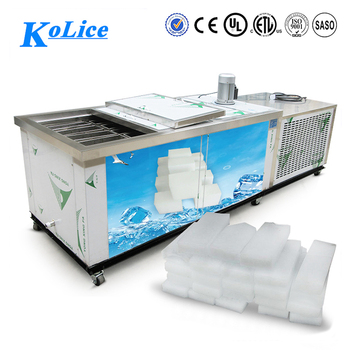 High quality hot sale commercial automatic block ice machine