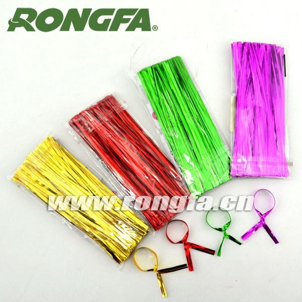 4mm Various Colors Single Wire Twist Tie Bread/gift Bag Closure ...