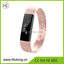 0.86inch touch screen Fitness Tracker Activity Tracking with Pedometer, Calorie Counter for iOS and Android