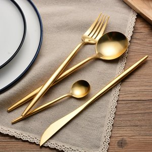 saudi arabia good price hand mirror vintage bulk gold flatware serving sets copper