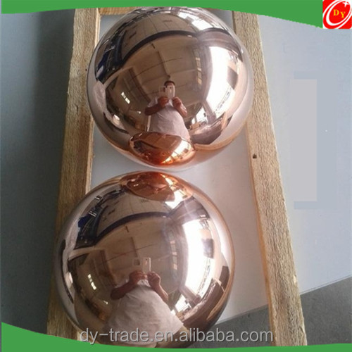 Dia 6mm-200mm Pure Perfect Polished Hollow Copper Ball