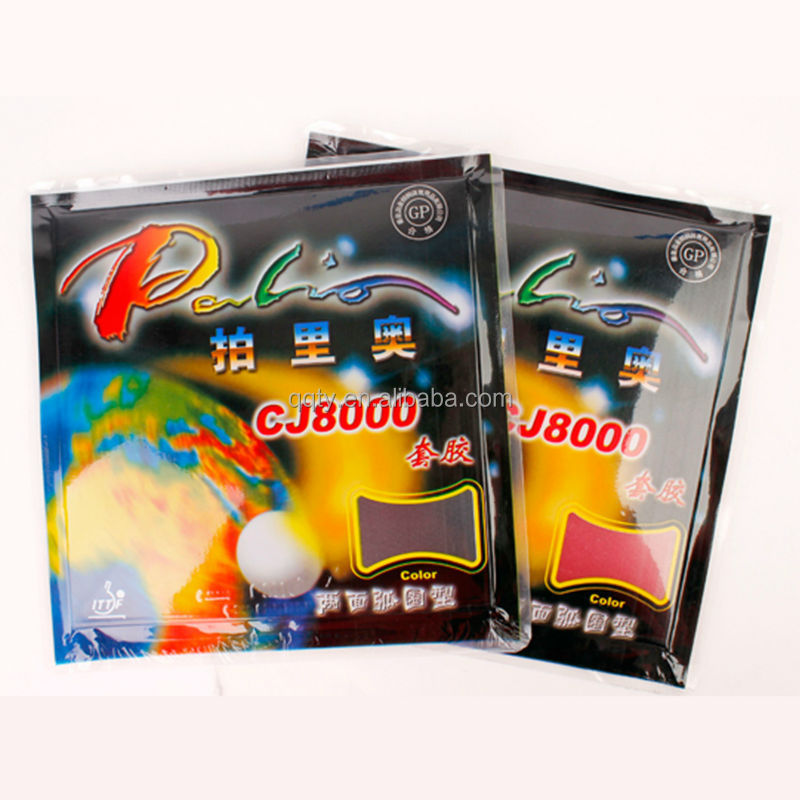 Palio CJ8000 ITTF approved 2.2mm ping pong <strong>rubber</strong>