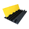 900*500*70mm Outdoor rubber 3 channel cable protector,cable ramp floor cover