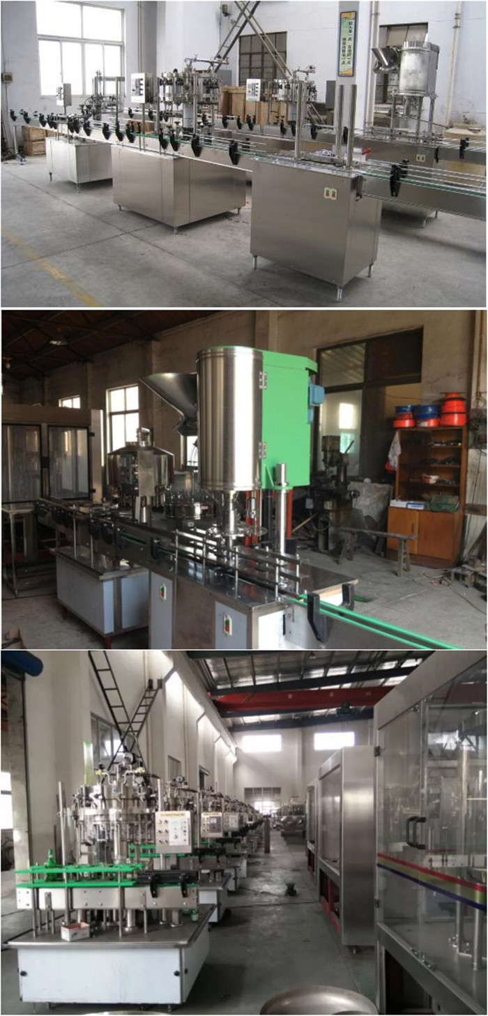 Zhengzhou Bottle Filling Corking 2 In 1 Beer Can Negative ...