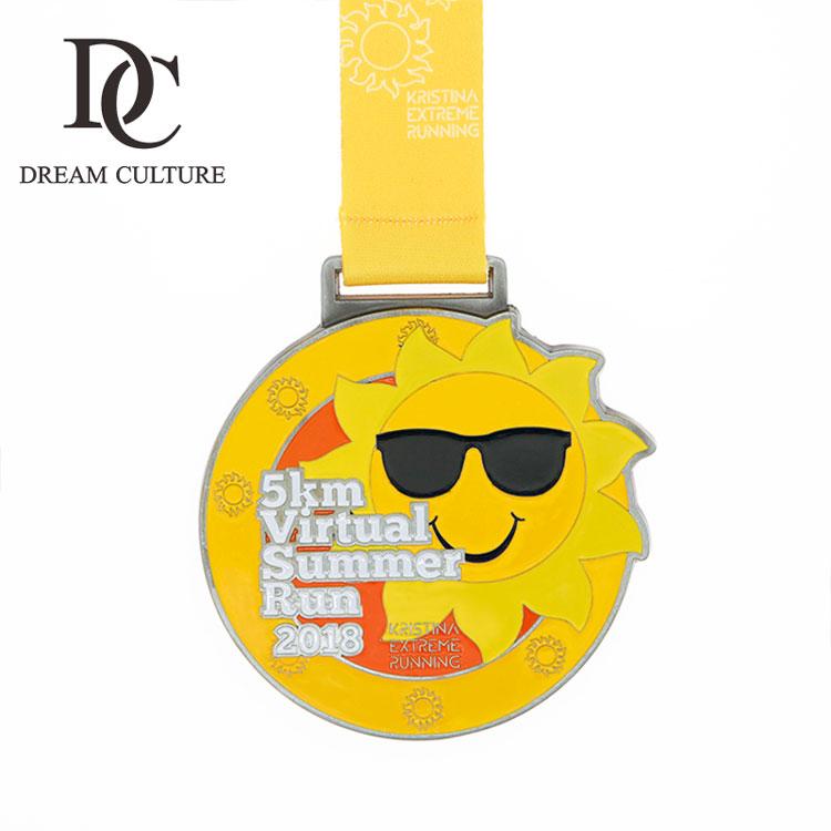 Sun Shapes Ports Award Medal Making Marathon Medal Display Medals - Buy Sun  Shape Madal,Sports Award Medal Making,Marathon Medal Display Product on